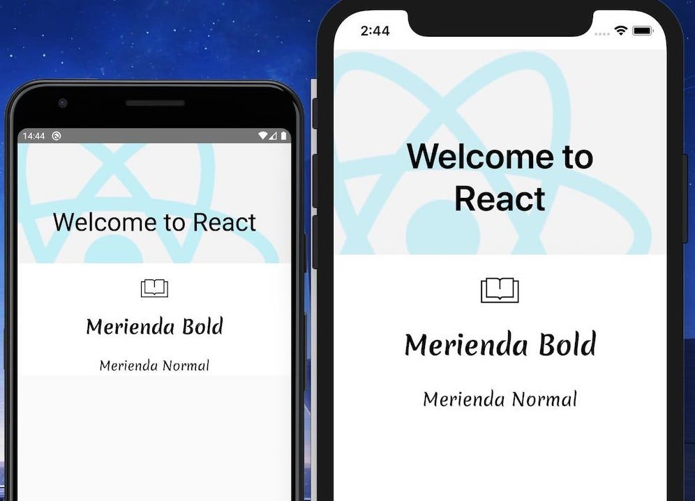 Custom Fonts iOS and Android